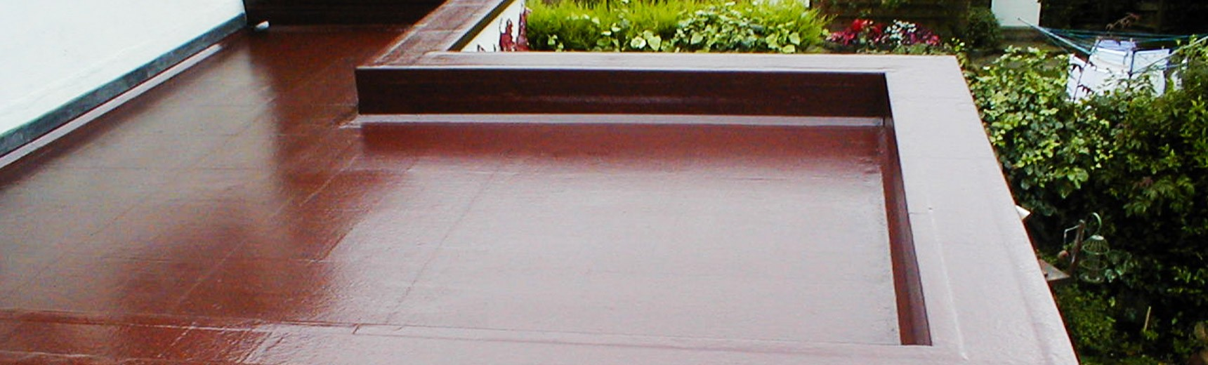 Brown fibreglass roofing Warrington
