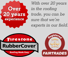 20 years experience in roofing
